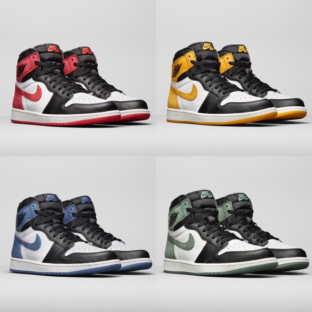 Best Hand In The Air Jordan 1 Collection S R D