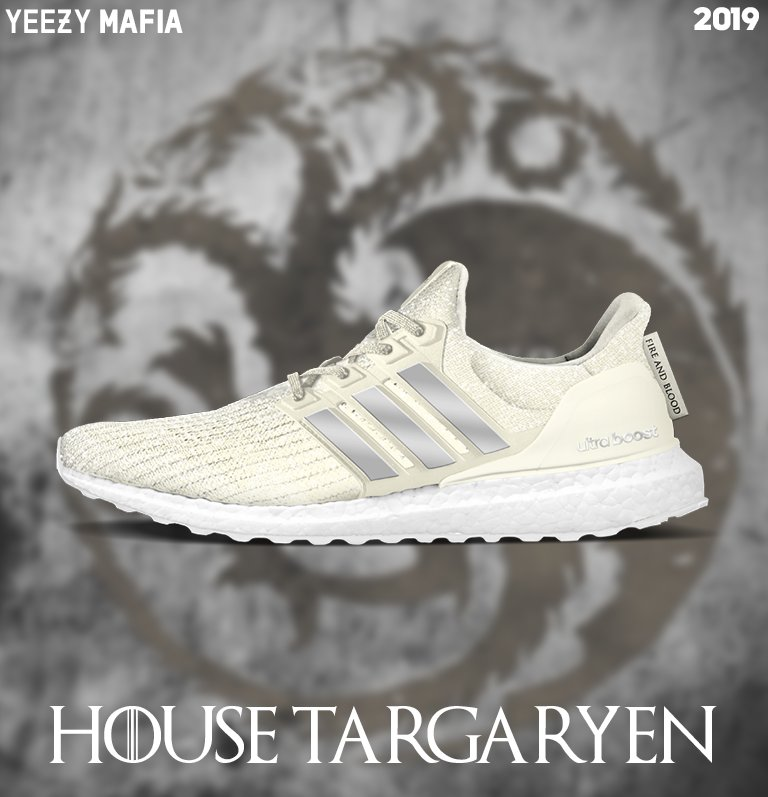 Adidas Ultra Boost House Targaryen Adds To The Game Of Thrones