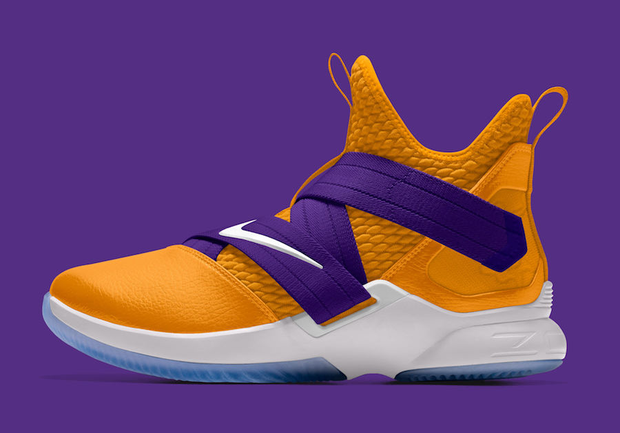 4e1c41278fdb0 Nike LeBron Soldier 12 Available in LA Lakers Colors