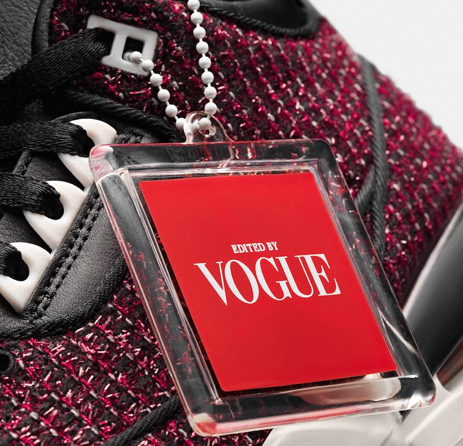 separation shoes df3d0 0d3de Vogue Air Jordan 3 AWOK University Red Release Date