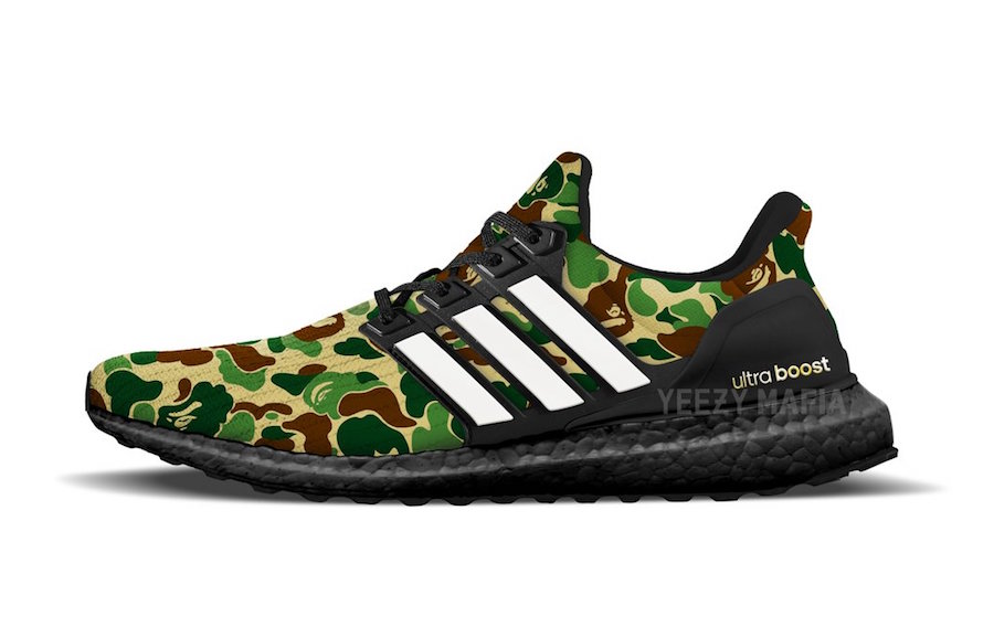 b7dfd1201e509 New Release Details for Bape s adidas Ultra Boost