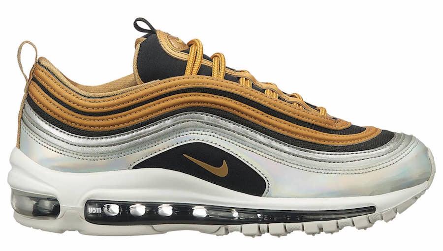 3cd497e0a7 ... Nike Air Max 95 Metallic Gold Release Date 884421 700: Nike Air Max 97  SE ...