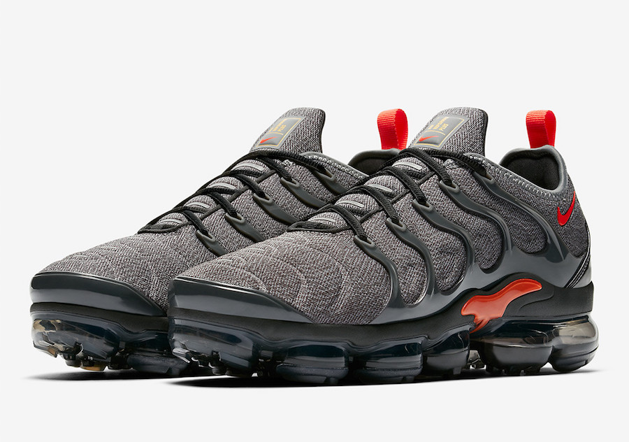 dccf55fdf8ca8 Nike Air VaporMax Plus Grey Red 924453-012 Release Date