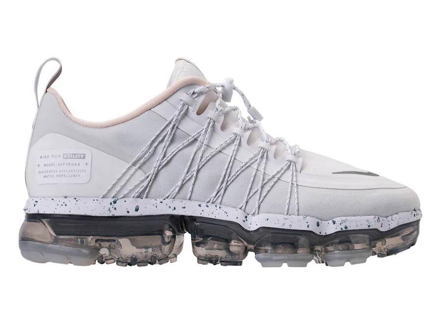 46f0a73991 Nike Air VaporMax Run Utility White Reflect Silver AQ8811-100 Release Date