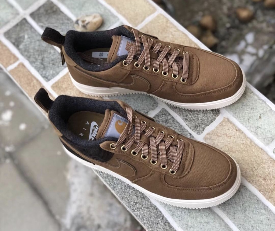 b606c93a2508 A Full Look at the Carhartt x Nike Air Force 1 Low