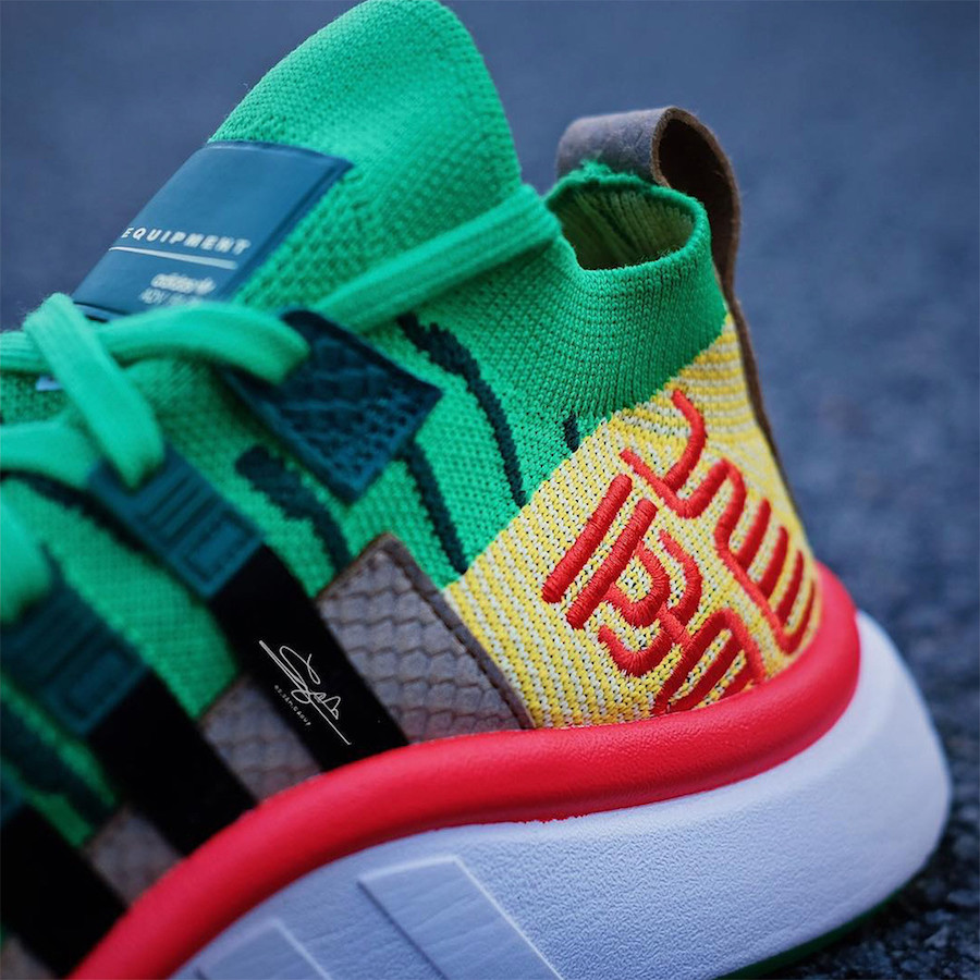 on sale 0c747 77b22 ... uk availability 1b878 f271f Dragon Ball Z adidas EQT Support Mid ADV  Shenron Release Date