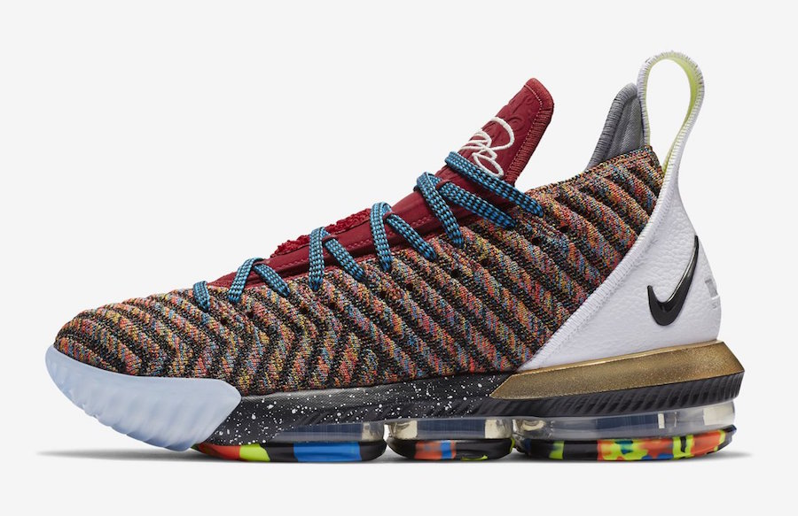 """First Look: Nike LeBron 16 """"What The"""""""