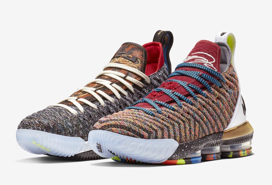 buy online faf77 7a134 First Look: Nike LeBron 16
