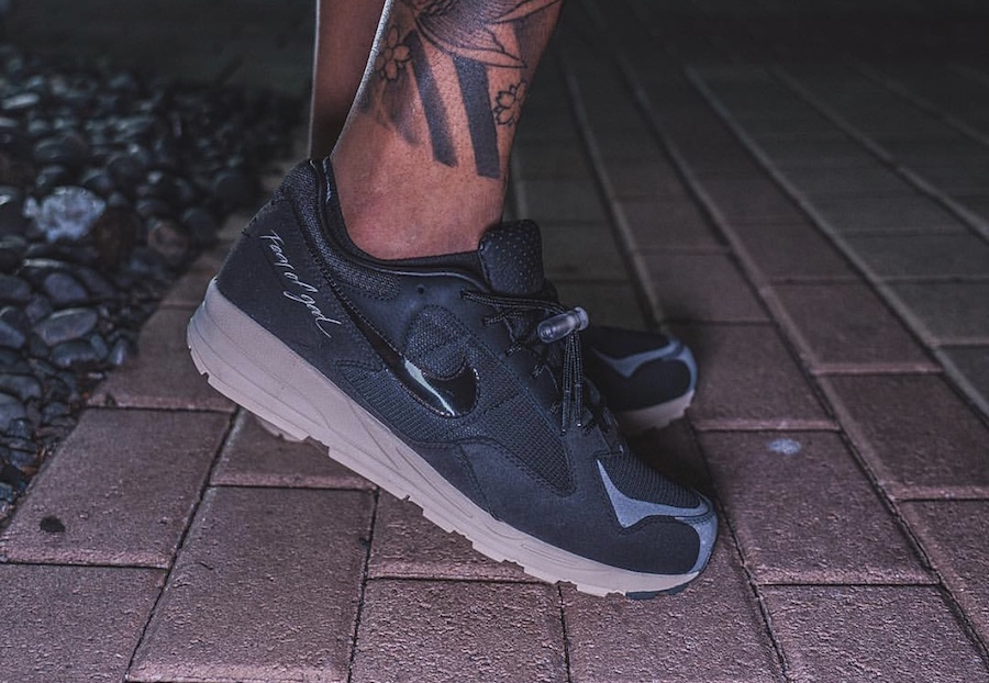 more photos e12b7 88da9 Fear of God Nike Air Skylon II 2 Black Release Date