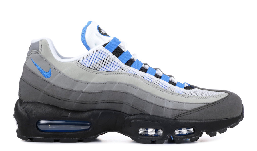 Nike Air Max 95 Crystal Blue AT8696-100 Release Date 9e0cc1945f