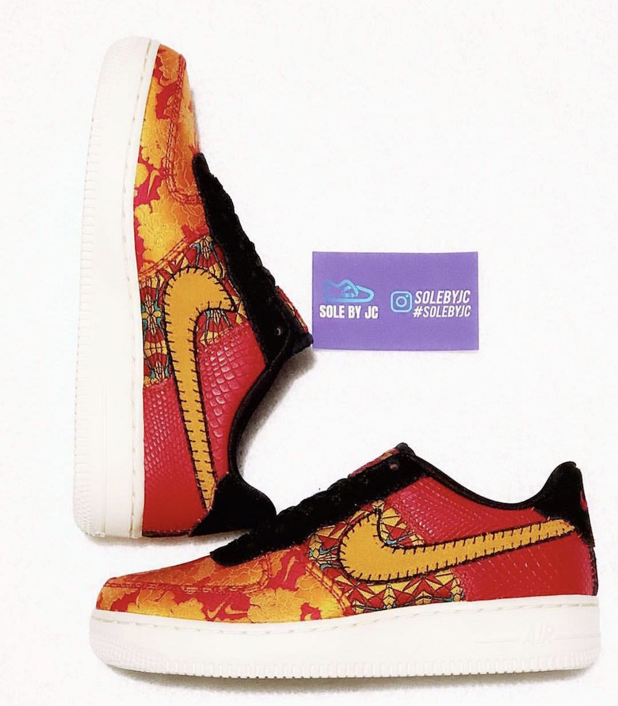 3a8726de94d9 Nike Air Force 1 Low Celebrates This Year s Chinese New Year