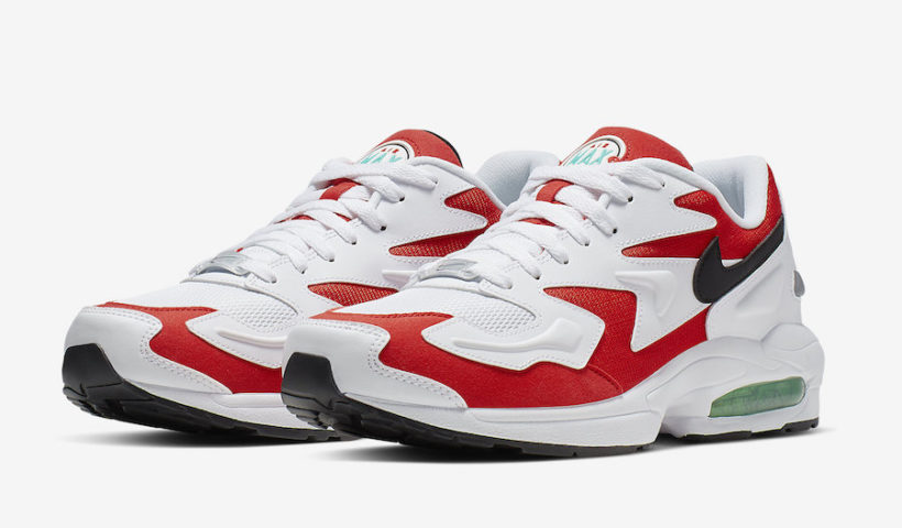 "size 40 558a4 4a113 Nike Air Max2 Light ""Habanero Red"" Coming Soon"