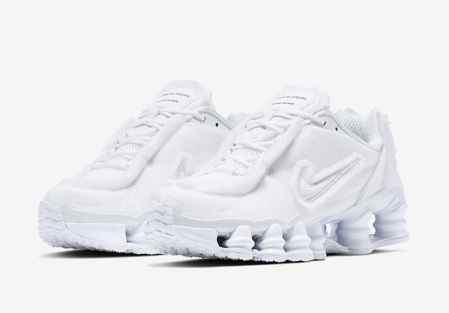 x Nike Shox TL in White