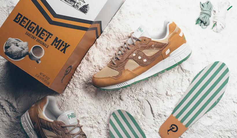 0284db75573 Sneaker Politics and Cafe Du Monde Releasing New Orleans Inspired Saucony  Collab